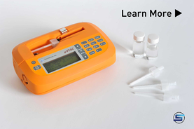 Portable, small sample viscometer microVISC