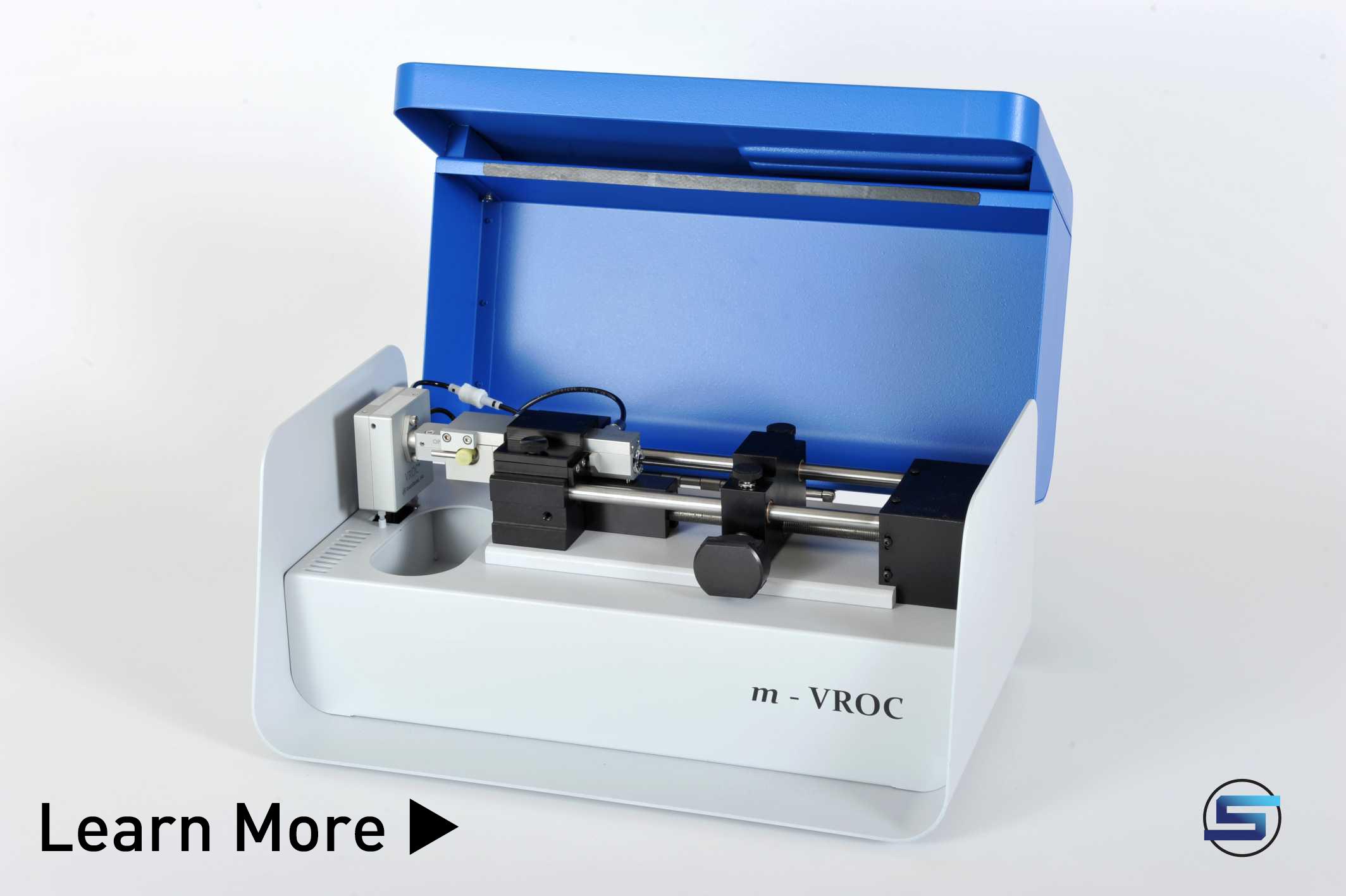Small sample high shear viscometer m-VROC