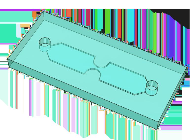 e-VROC flow channel