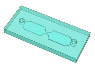 e-VROC flow channel