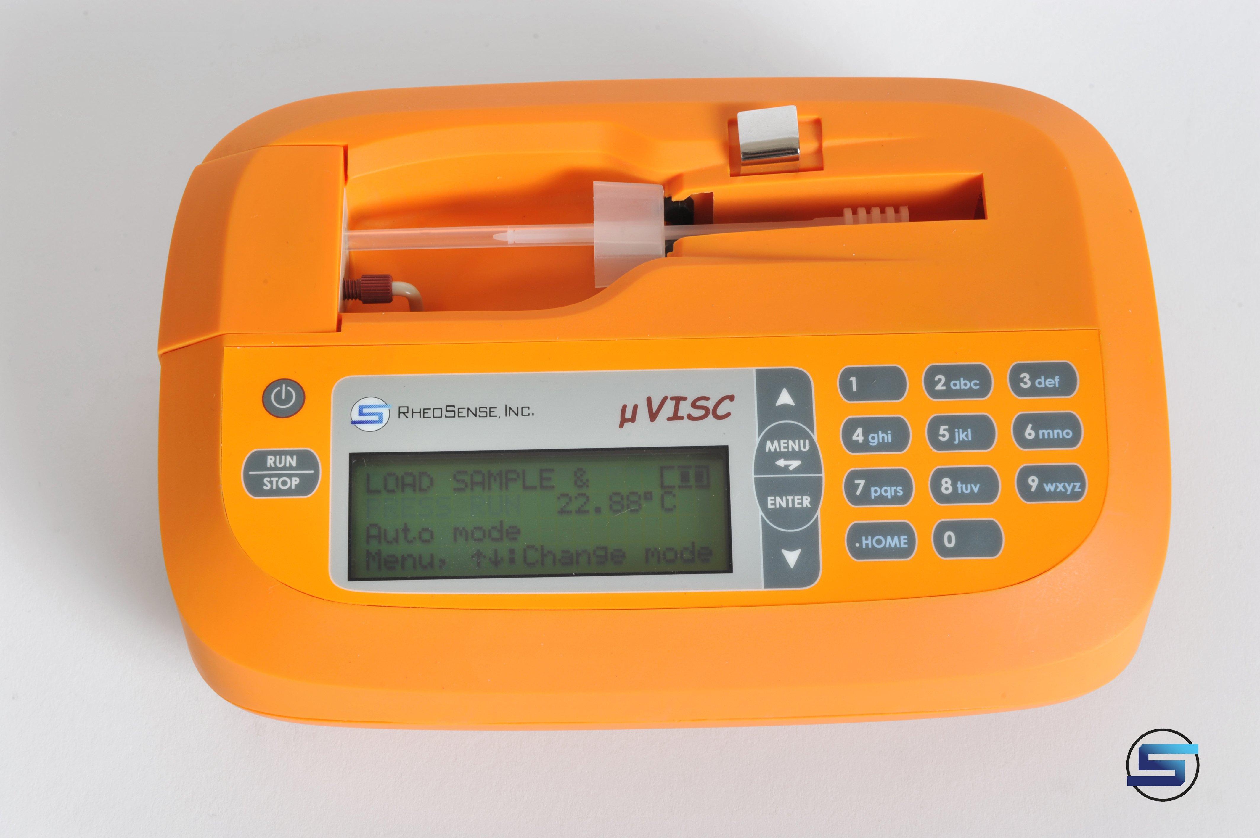 Small Sample, Portable Viscometer