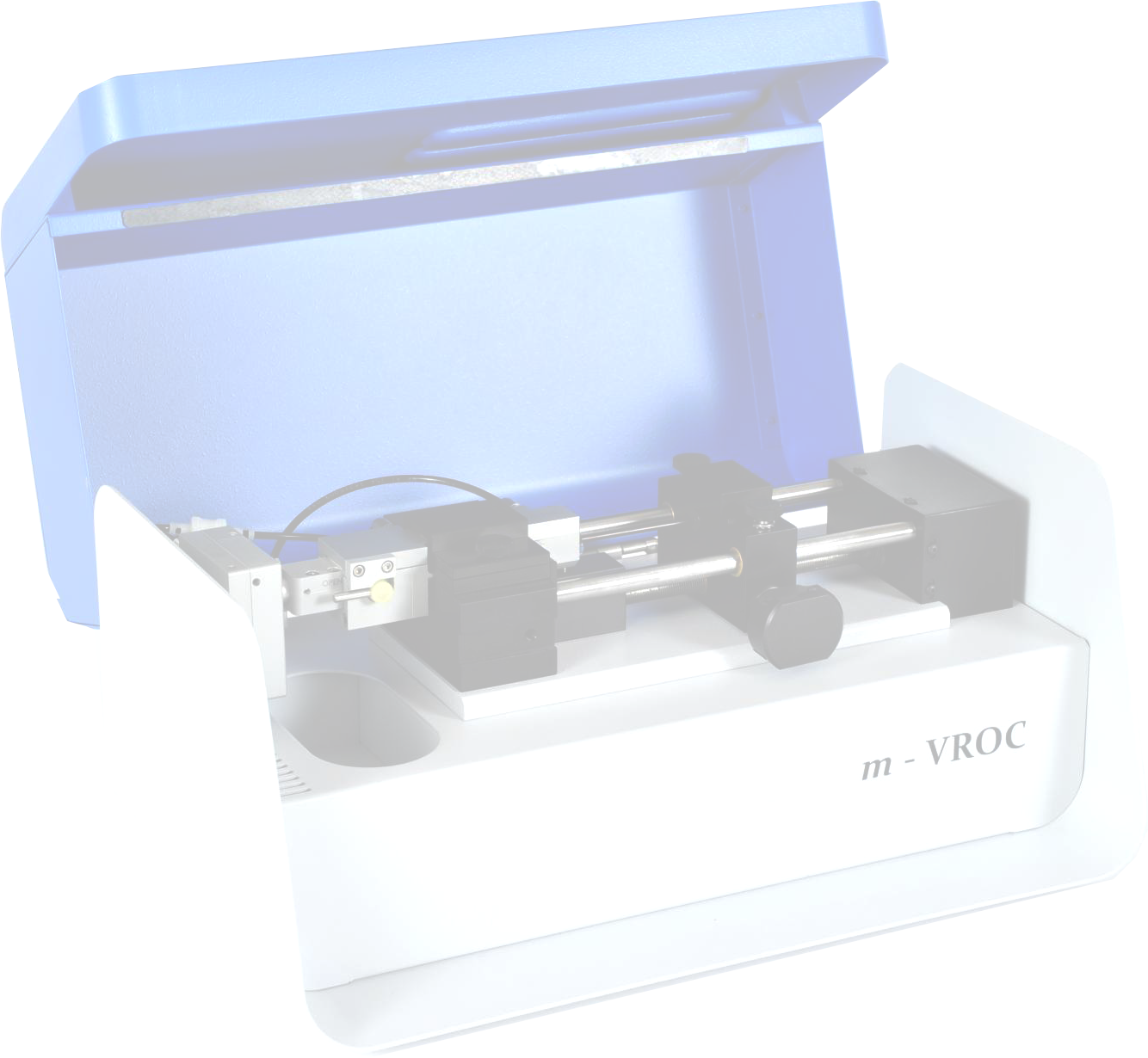 Small-sample viscometer, m-VROC