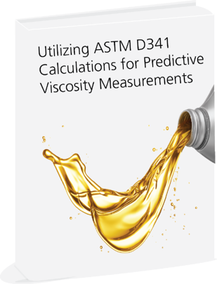 Using ASTM D341 Calculations for Viscosity Measurements