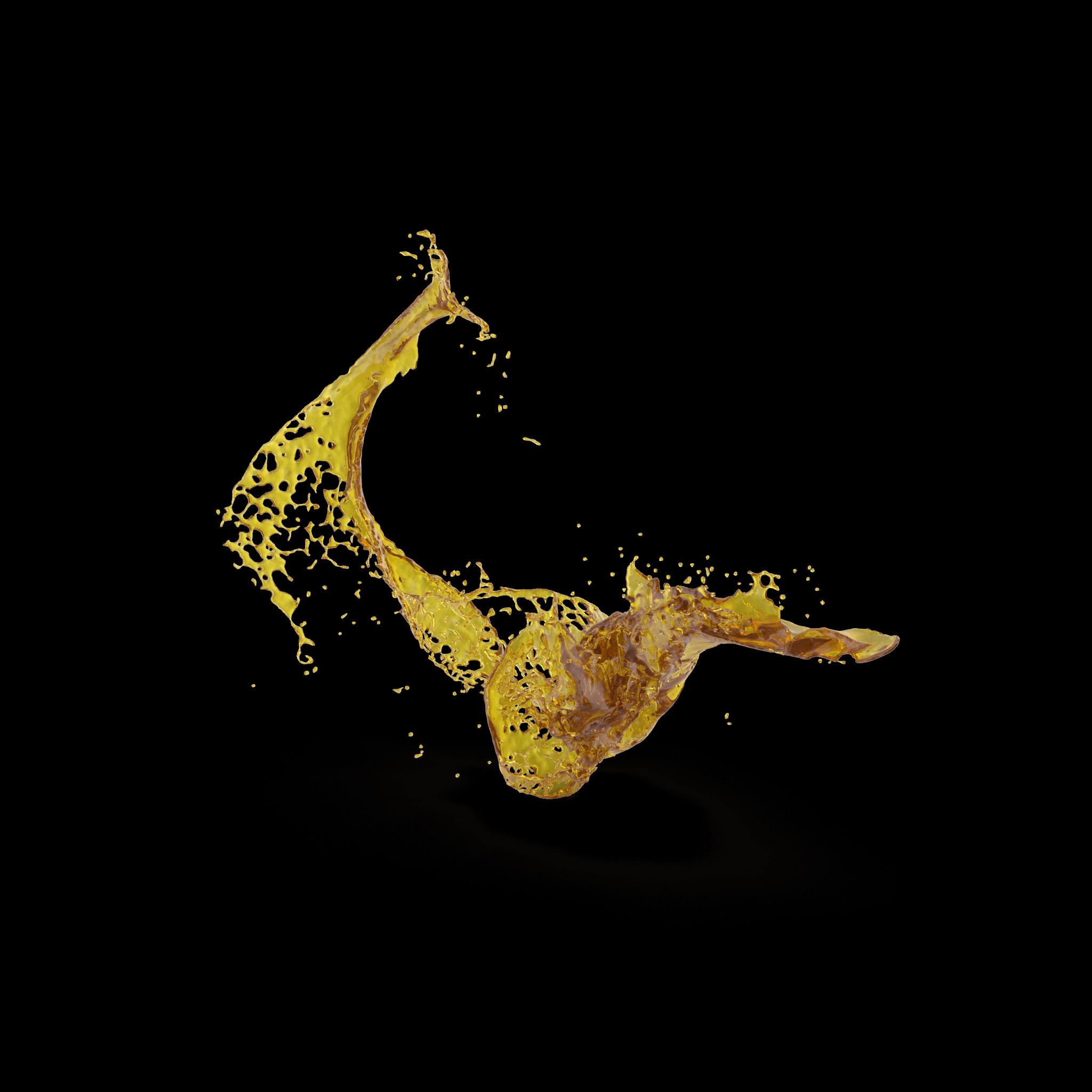 Oil splash