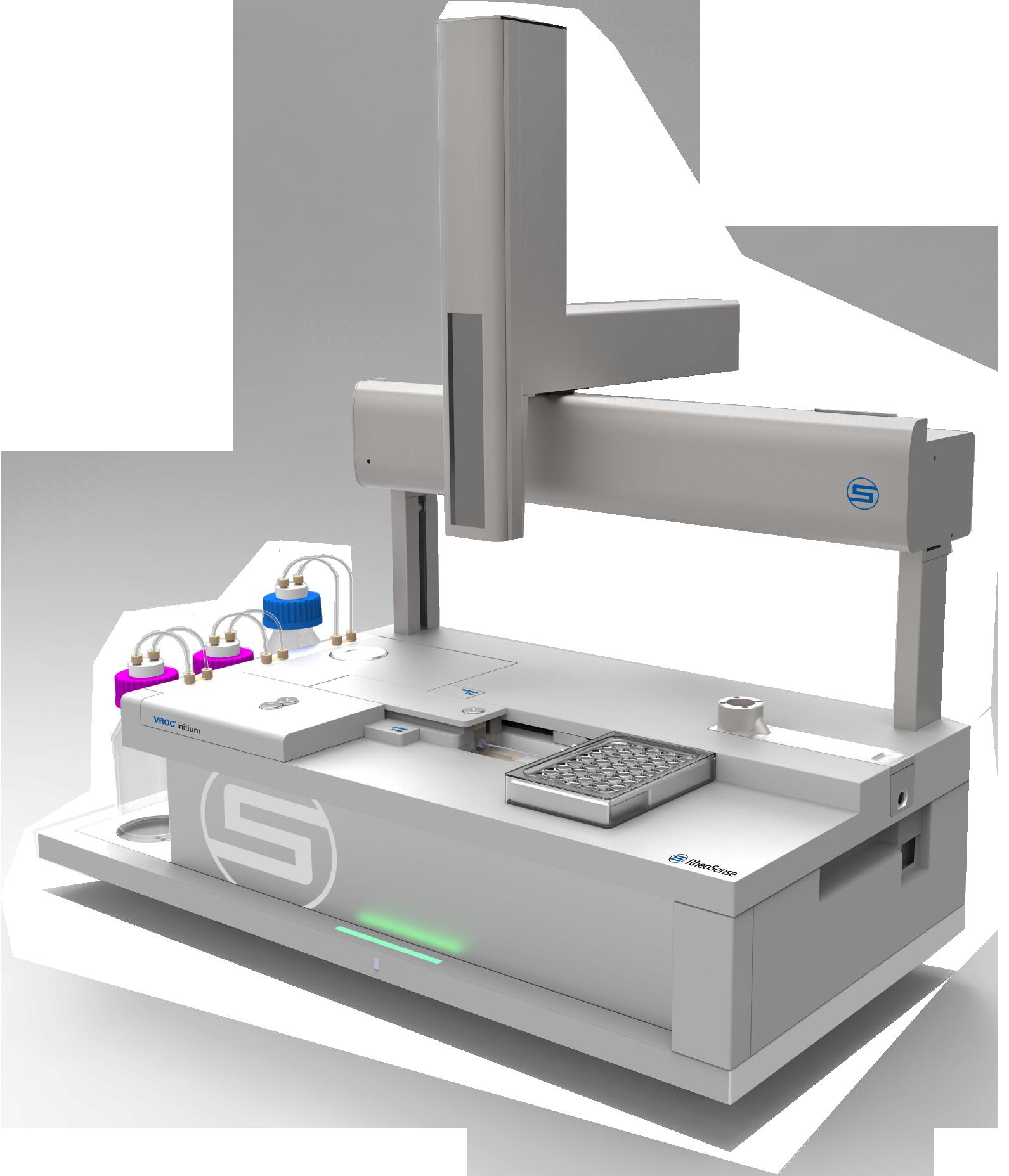 VROC initium, Automatic High Throughput Viscometer