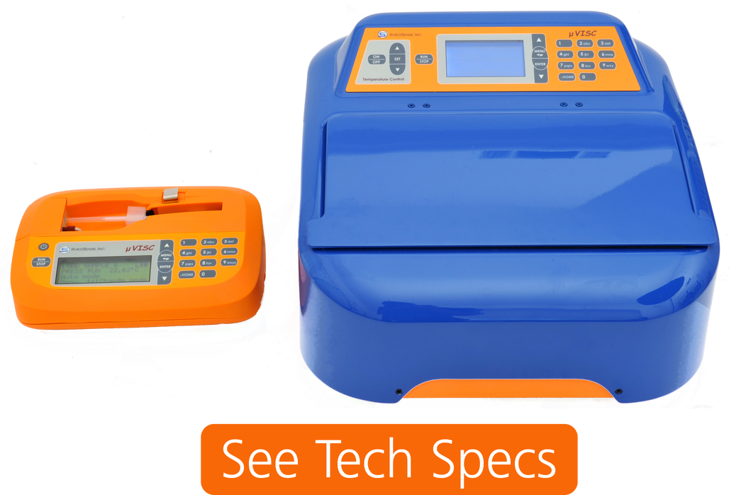 microVISC -  Portable, small sample viscometer