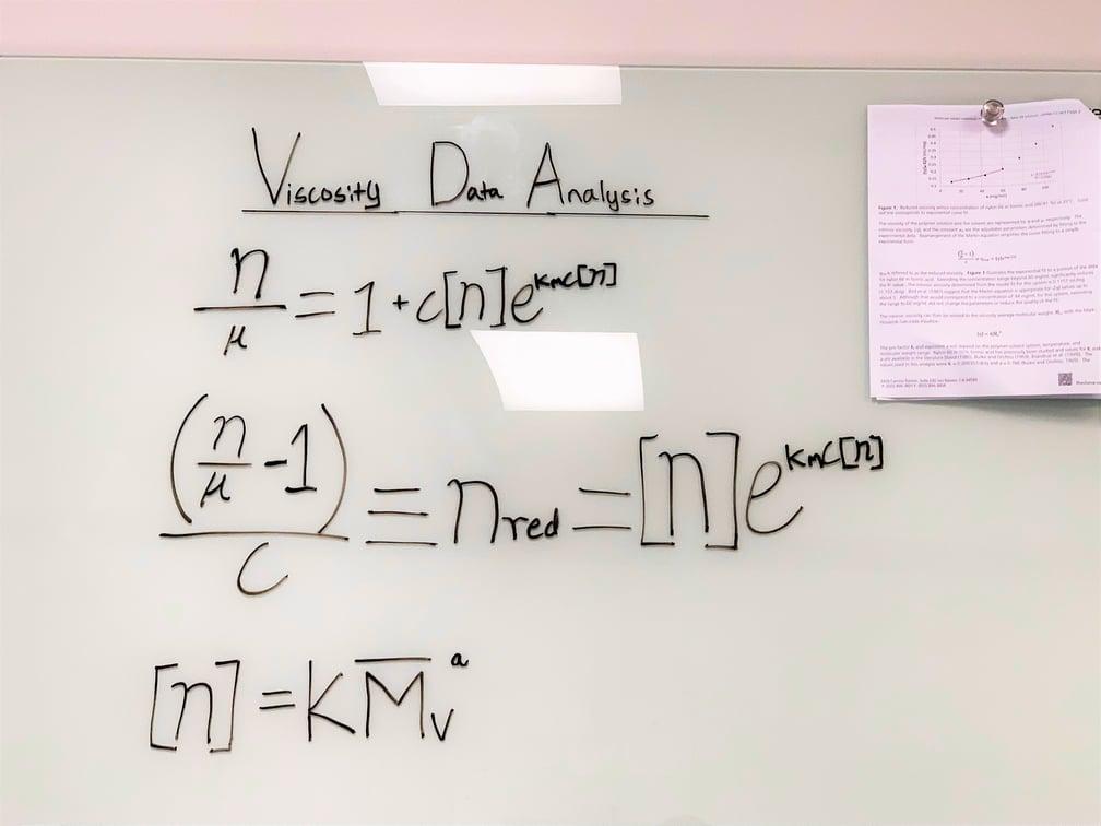 Viscosity Data Equations