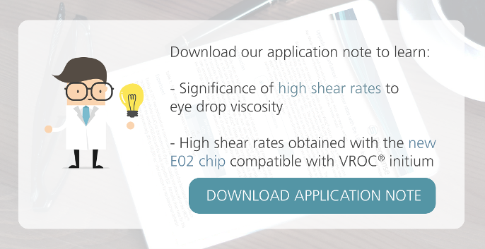 Download application notes on high shear rates with eye drop viscosity
