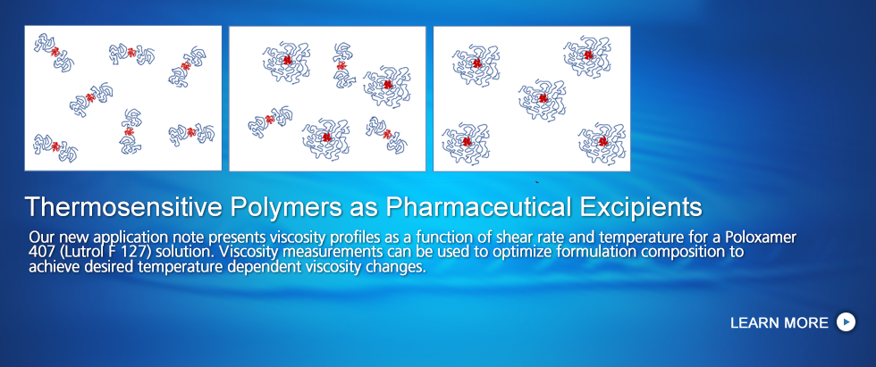 Thermosensitive Polymers as Pharmaceutical Excipients