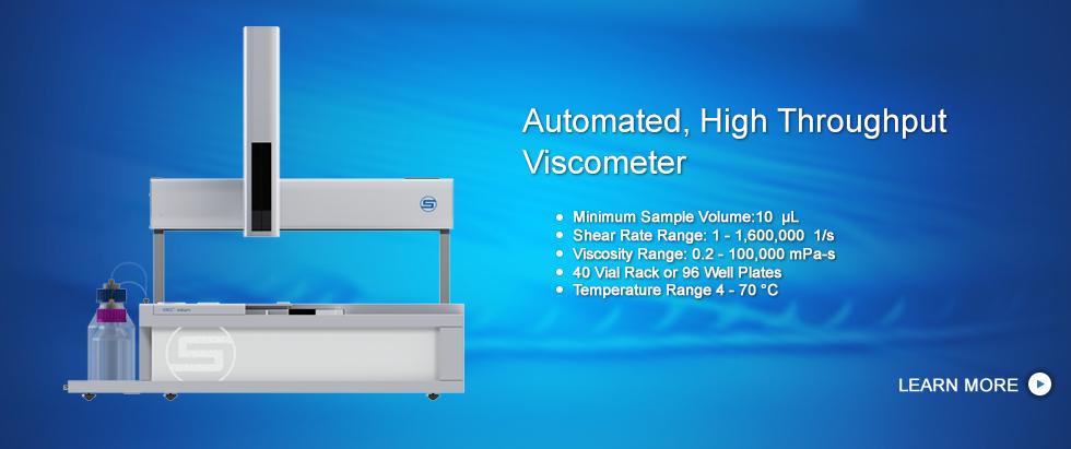 Automatic High Throughput Viscometer, VROC initium