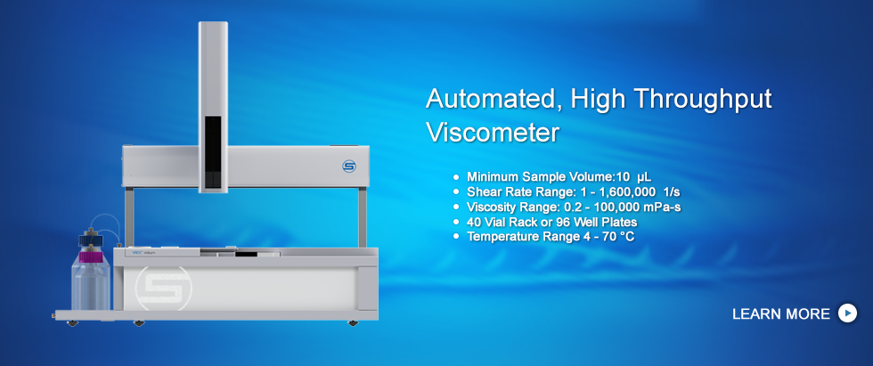 Automatic High Throughput Viscometer, VROC initium
