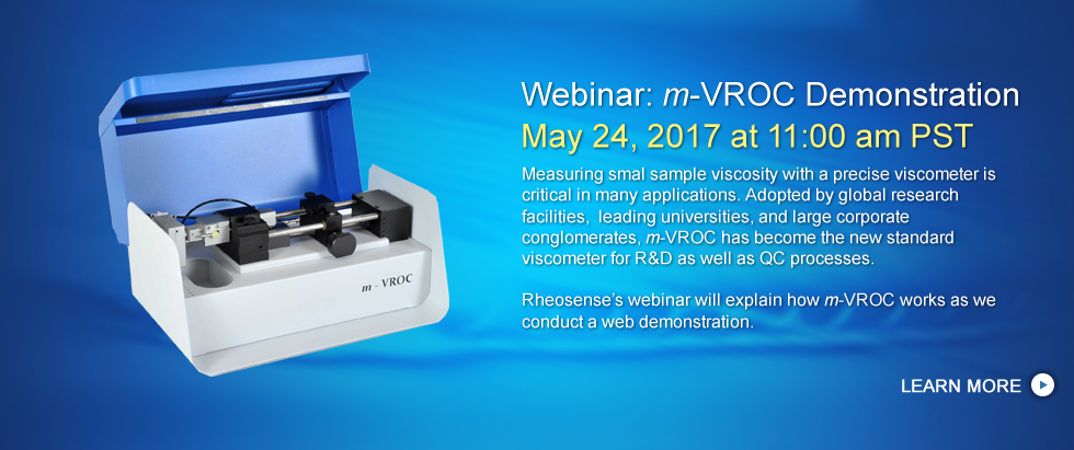 m-VROC Demonstration - May 24, 2017 at 11:00 am PST