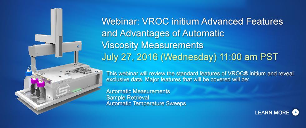 VROC initium Webinar - July 27, 2016